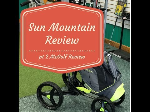 2017 Sun Mountain Cart and travel Bag review