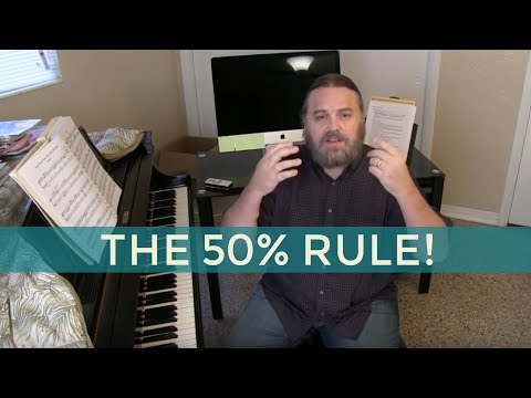 HOW TO PRACTICE SLOWLY ~ The 50% Rule
