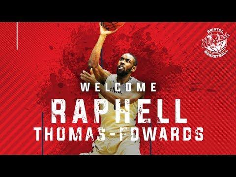 Bristol Flyers - Introducing Raphell Thomas-Edwards
