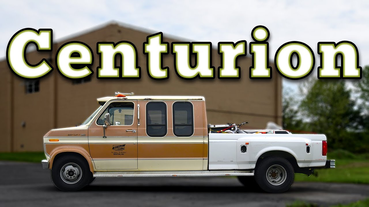 1986 Ford E350 Centurion Van Truck Regular Car Reviews