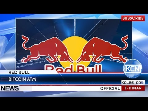 KCN News: Red Bull has created Bitcoin ATM