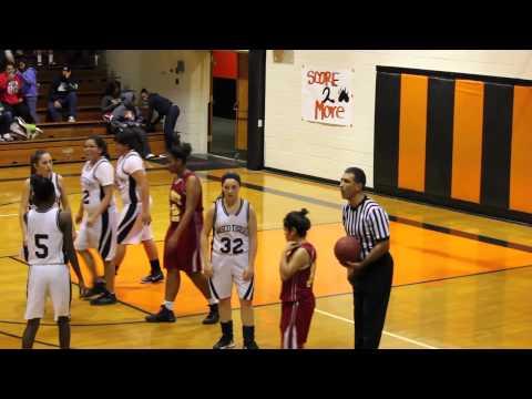 Wasco Varsity Girls Basketball vs Mira Monte (12-09-2013)
