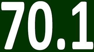 КОНТРОЛЬНАЯ  АНГЛИЙСКИЙ ЯЗЫК ДО ПОЛНОГО АВТОМАТИЗМА С САМОГО НУЛЯ  УРОК 70 1 УРОКИ АНГЛИЙСКОГО ЯЗЫКА