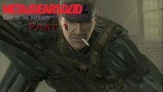 Let's Play Metal Gear Solid 4 Guns of the Patriots {German} Part 1: Krieg hat sich verändert