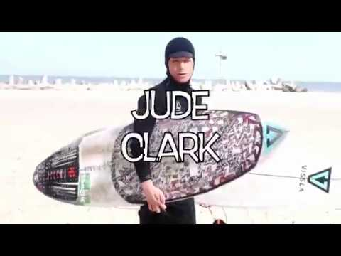 Jude Clark SURFING WINTER STORM RILEY