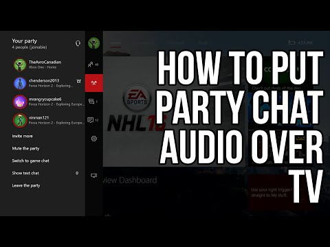 (OUTDATED) How To: Party Chat Over Speakers | Xbox One