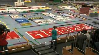 German domino record 2010 with 446,514 dominoes (Part 1 of 2)