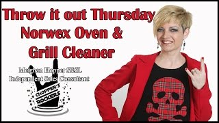Throw It Out Thursday - Oven & Grill Cleaner
