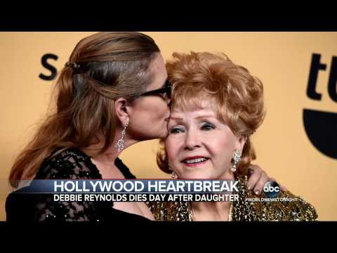 Debbie Reynolds,  Carrie Fisher | Hollywood Reeling From Back-to-Back Deaths