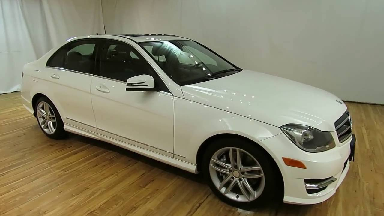 2014 mercedes benz c class c300 sport sunroof carvision