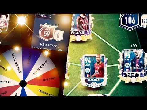 The Best Squad in FIFA Mobile 19 - 4 Snowman of the Match! And the Return of The Wheel of Champions!