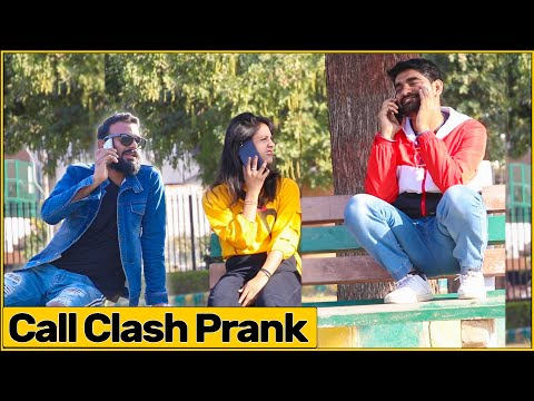 Epic Double Call Clash Prank | Ft. Bhasad News | The HunGama Films