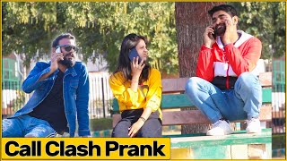 Epic Double Call Clash Prank | Ft. Bhasad News | The HunGama Films