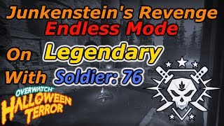 Legendary Victory in Junkenstein's Endless 2018 as Soldier: 76 - Overwatch