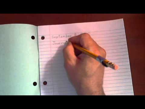 How to write a journal entry from YouTube · Duration:  1 minutes 57 seconds