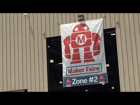 2018 Maker Faire Exploration Livestream #2, Plus its my birthday today.