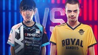Evi vs Dumbledoge | 1 v 1 Tournament | 2018 All-Star Event | Day 2