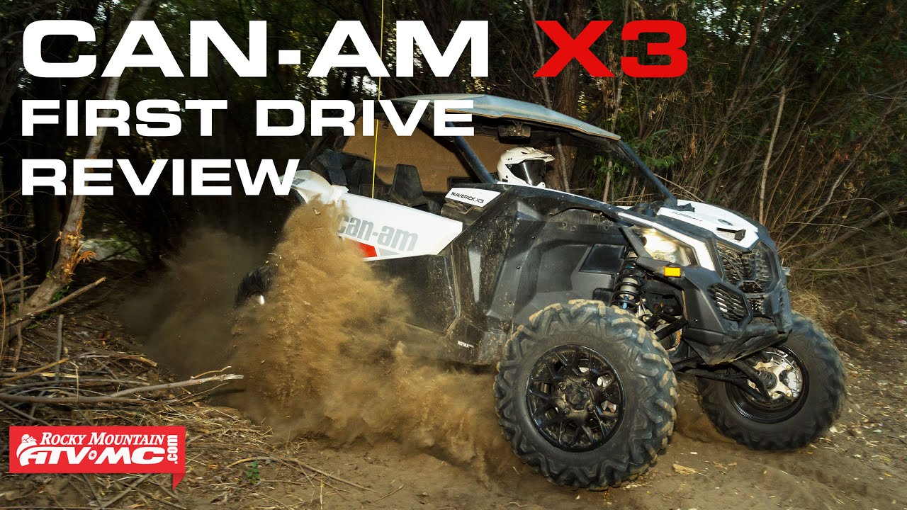 2017 Can-Am Maverick X3 Turbo R First Drive Review