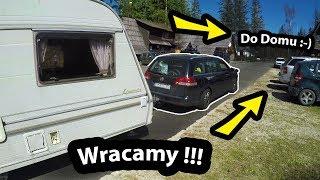 Oddajemy Przyczepę Kempingową i Wracamy do Domu !!! - Jak wygląda Tama Bobra? (Vlog #281)
