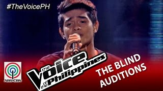 "The Voice of the Philippines Blind Audition ""Tadhana"" by Daniel Ombao (Season 2)"