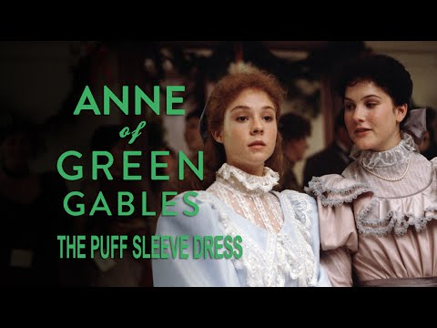 Anne Shirley's Puff Sleeve Dress