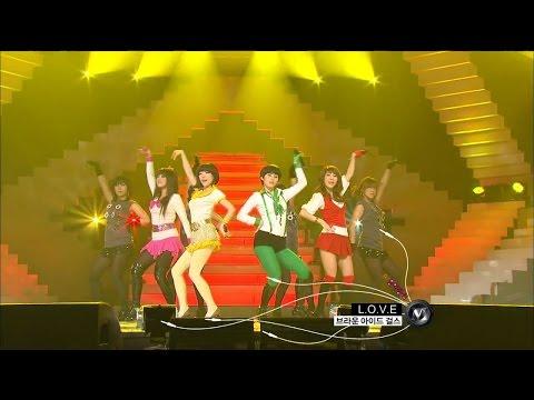 【TVPP】Brown Eyed Girls - L.O.V.E - 브아걸 - 러브 @ Music Core Live