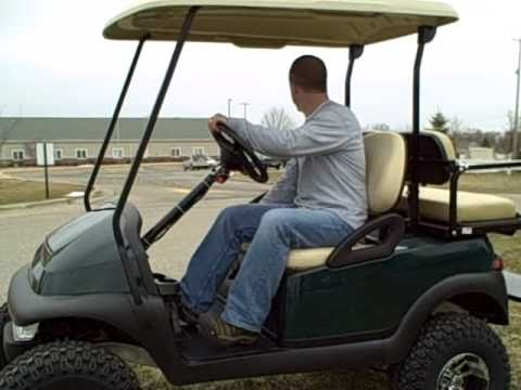 2005 Gas Club Car Golf Cart W Jake S 6 Spindle Lift Kit Youtube