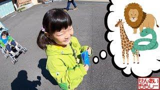 日本平動物園であそぶせんももあいしー Nihondaira Zoo