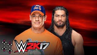 No Mercy: John Cena vs. Roman Reigns - WWE 2K17 Match Sims thumbnail