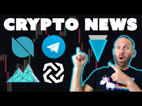 Crypto News - Verge Bytom Ontology Mithril Telegram ICO