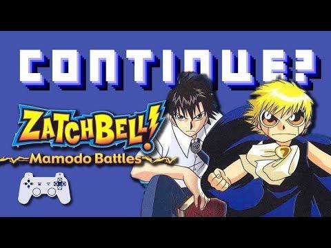 Zatch Bell! Mamodo Battles (PS2) - Continue?