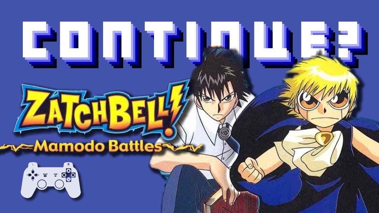 Zatch bell mamodo battles ps2 continue