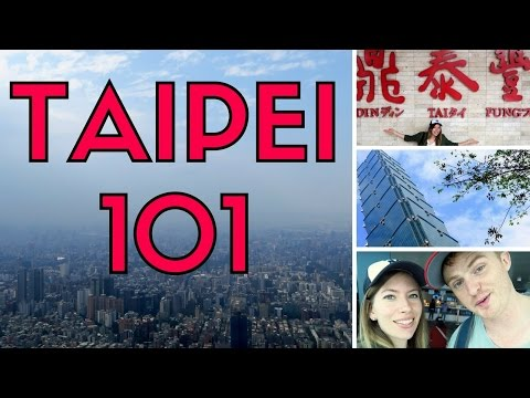 Taipei 101 travel vlog (臺北101 / 台北101) - Views, shopping & eating Xiaolongbao (小籠包) at Din Tai Fung