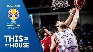 Greece v Serbia - Full Game - FIBA Basketball World Cup 2019 - European Qualifiers