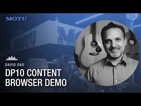 DP10 Content Browser