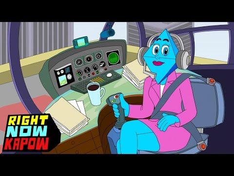 Chopper News | Right Now Kapow | Disney XD