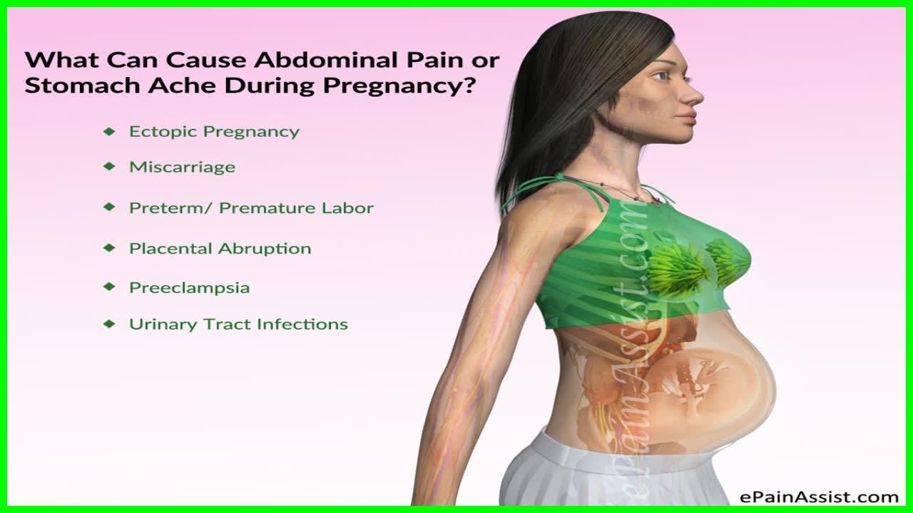 Causes Of Lower Right Abdominal Pain During Pregnancy Women Health Care Youtube