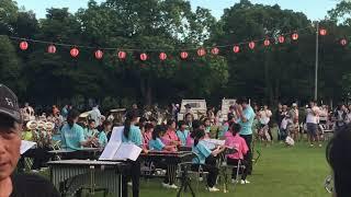 芳川公園祭り 吹奏楽部Part1