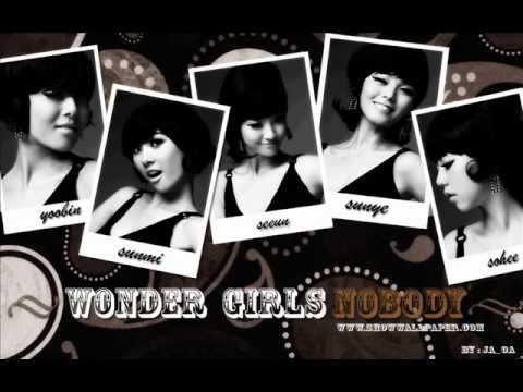 Wonder Girls Nobody English Version Lyrics