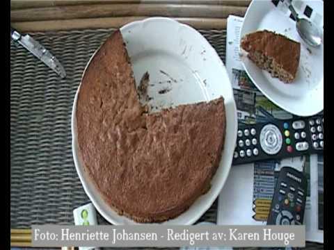 Videoblogg - Bake banan-sjokolade-kake