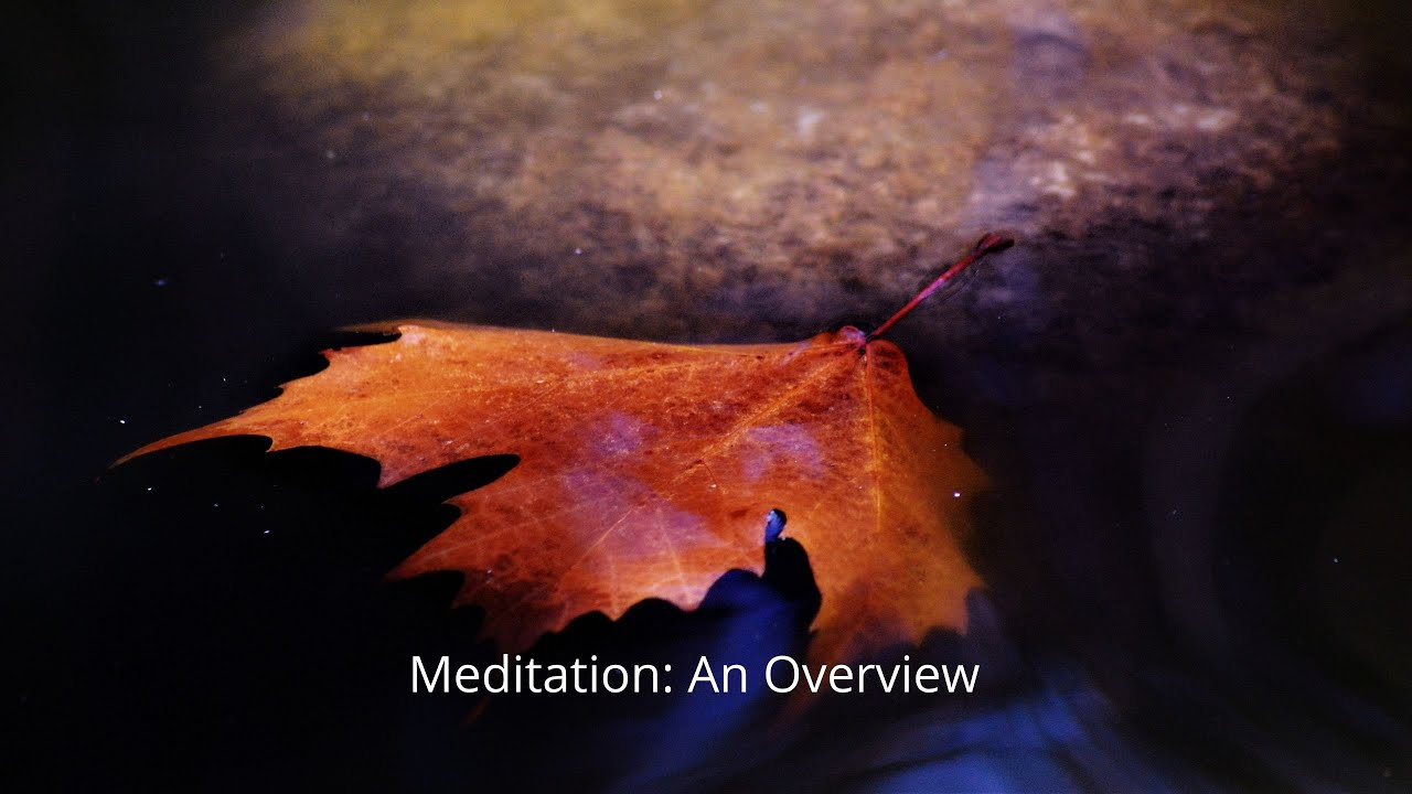 Meditation Overview