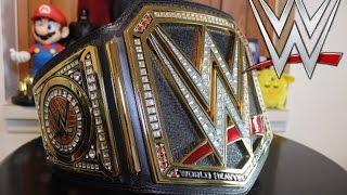 2014 WWE World Heavyweight Championship Replica Title Belt Review