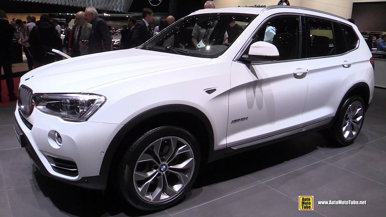 2016 Bmw X3 20d Xdrive Exterior And Interior Walkaround 2016 Geneva Motor Show Youtube