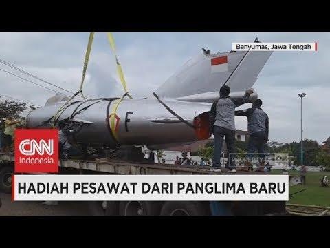 Hadiah Pesawat dari Panglima TNI Marsekal Hadi Tjahjanto