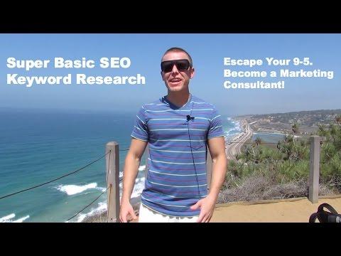 Super Basic Keyword Research - Beginner SEO
