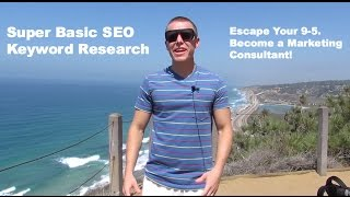 Super Basic Keyword Research - Beginner SEO