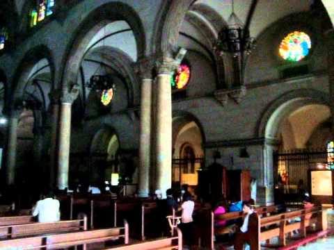 Manila Cathedral Sept 2011.wmv