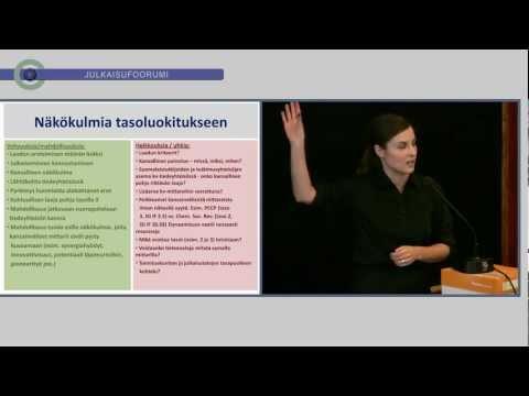 Ilona Riipinen: Tasoluokitus tutkijan näkökulmasta