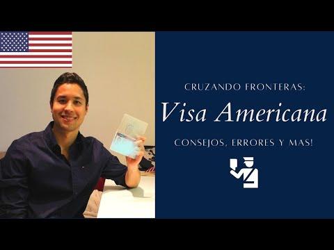 QUE HACER PARA OBTENER VISA AMERICANA? 2020