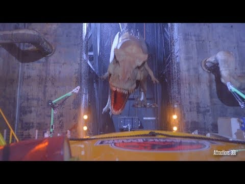 [4K] Jurassic Park Ride - NOW CLOSED at Universal Studios Hollywood